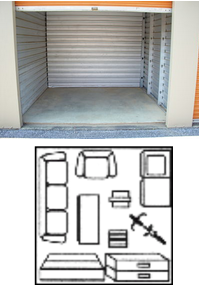 Prices sizes mall mini storage for 10 x 10 sq ft